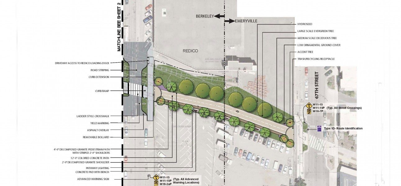 Berkeley 9th Street Bike Boulevard Extension