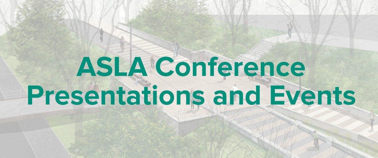 ASLA events