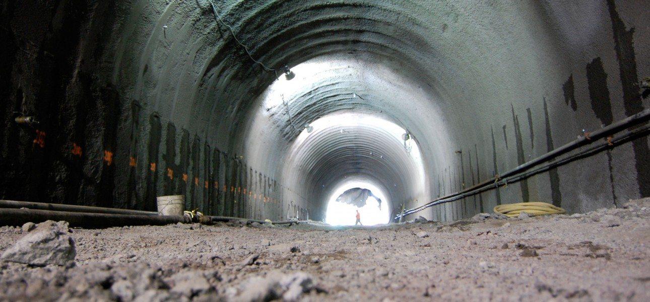 Cal-Park-Tunnel-construction