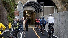 Cal Park Tunnel entrance