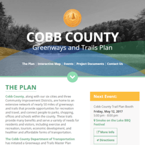 Cobb County Greenways and Trails Plan