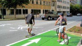 Cycle Atlanta green bike box
