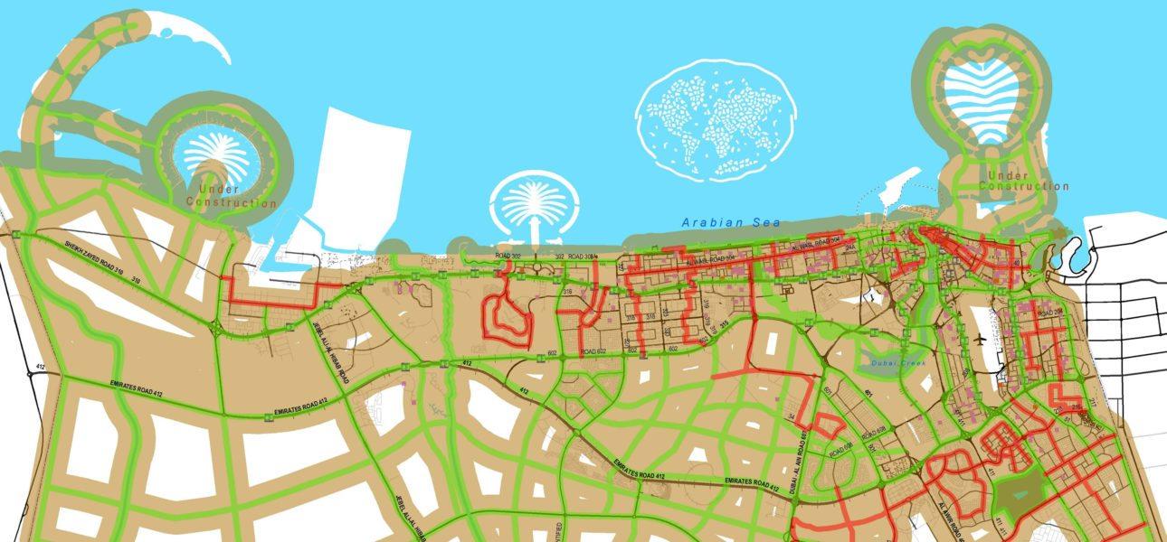 Dubai Bicycle Master Plan Alta Planning Design