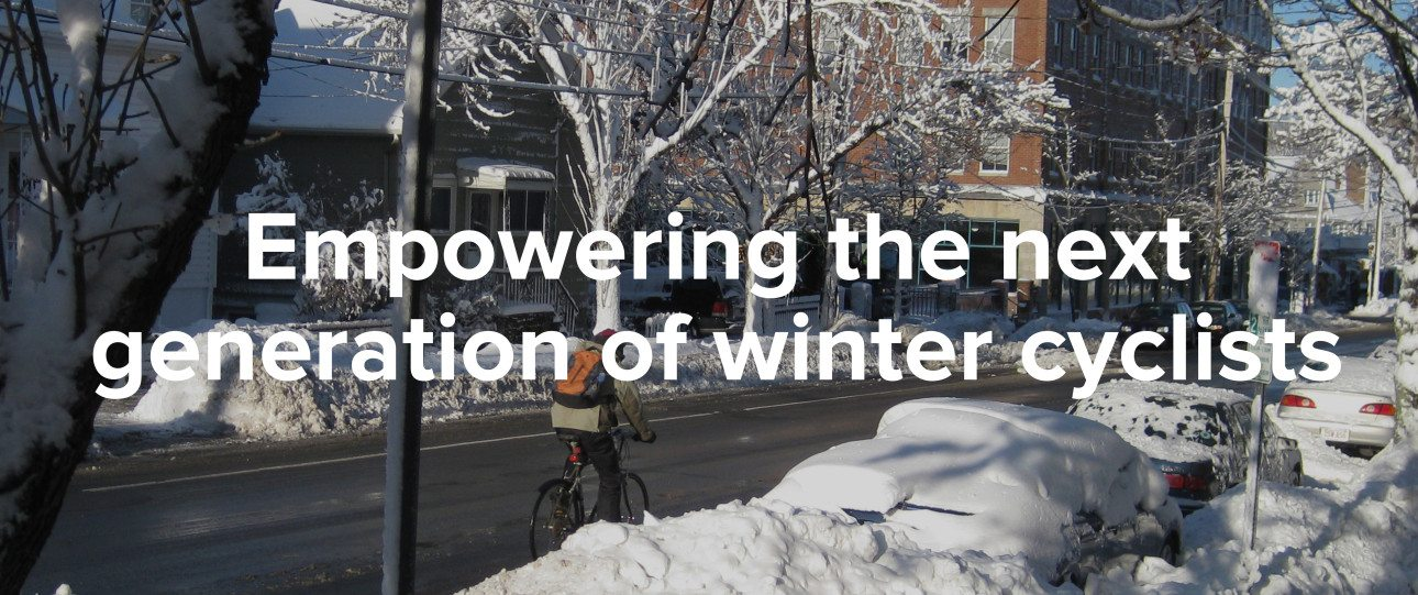 Empowering the next generation of winter cyclists