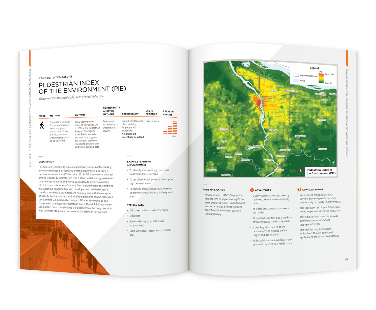 FHWA Guidebook for Measuring Multimodal Network Connectivity