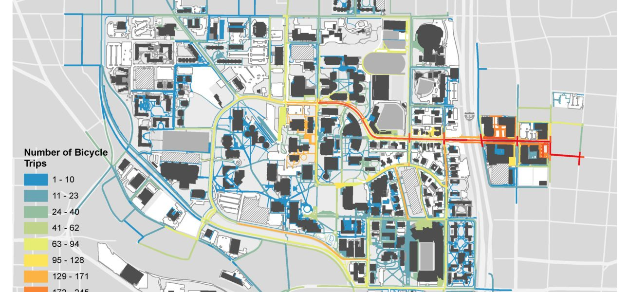 Campus Map Georgia Tech.Georgia Tech Campus Bicycle Master Plan Alta Planning Design
