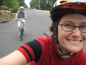Jessica Roberts bike