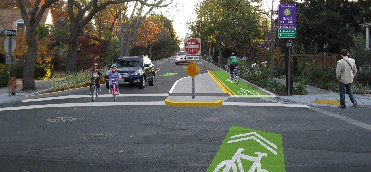 Palo Alto Bicycle Boulevard Feasibility 1