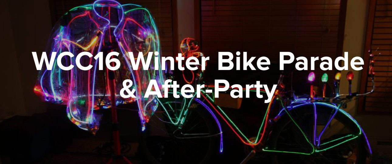 WCC16 Winter Bike Parade & After-Party