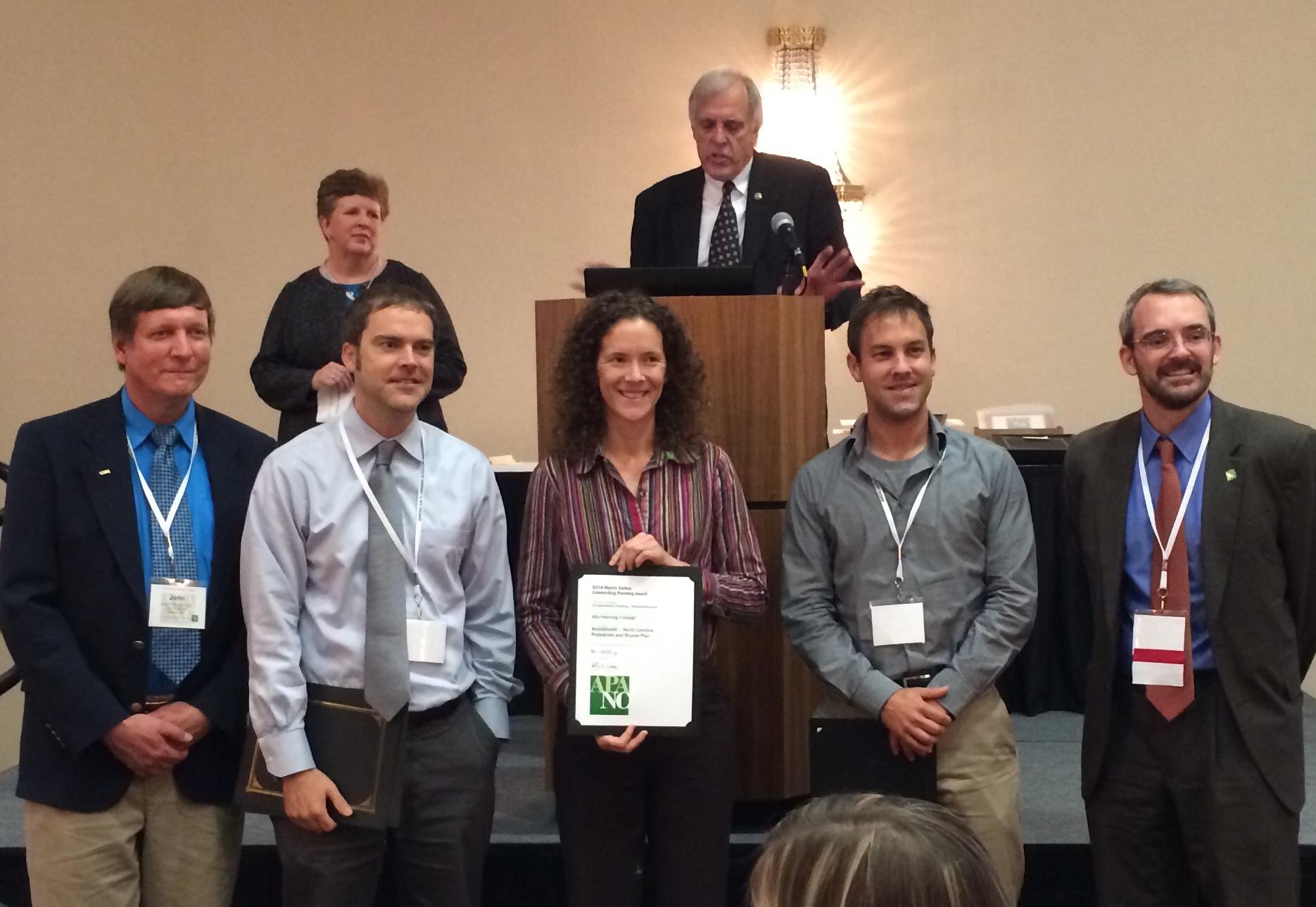WalkBikeNC Award