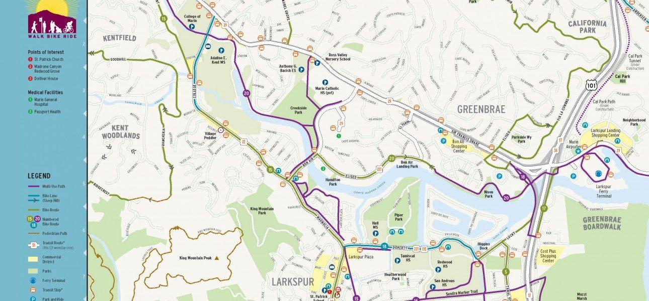 Way-to-Go-Marin-Larkspur-map