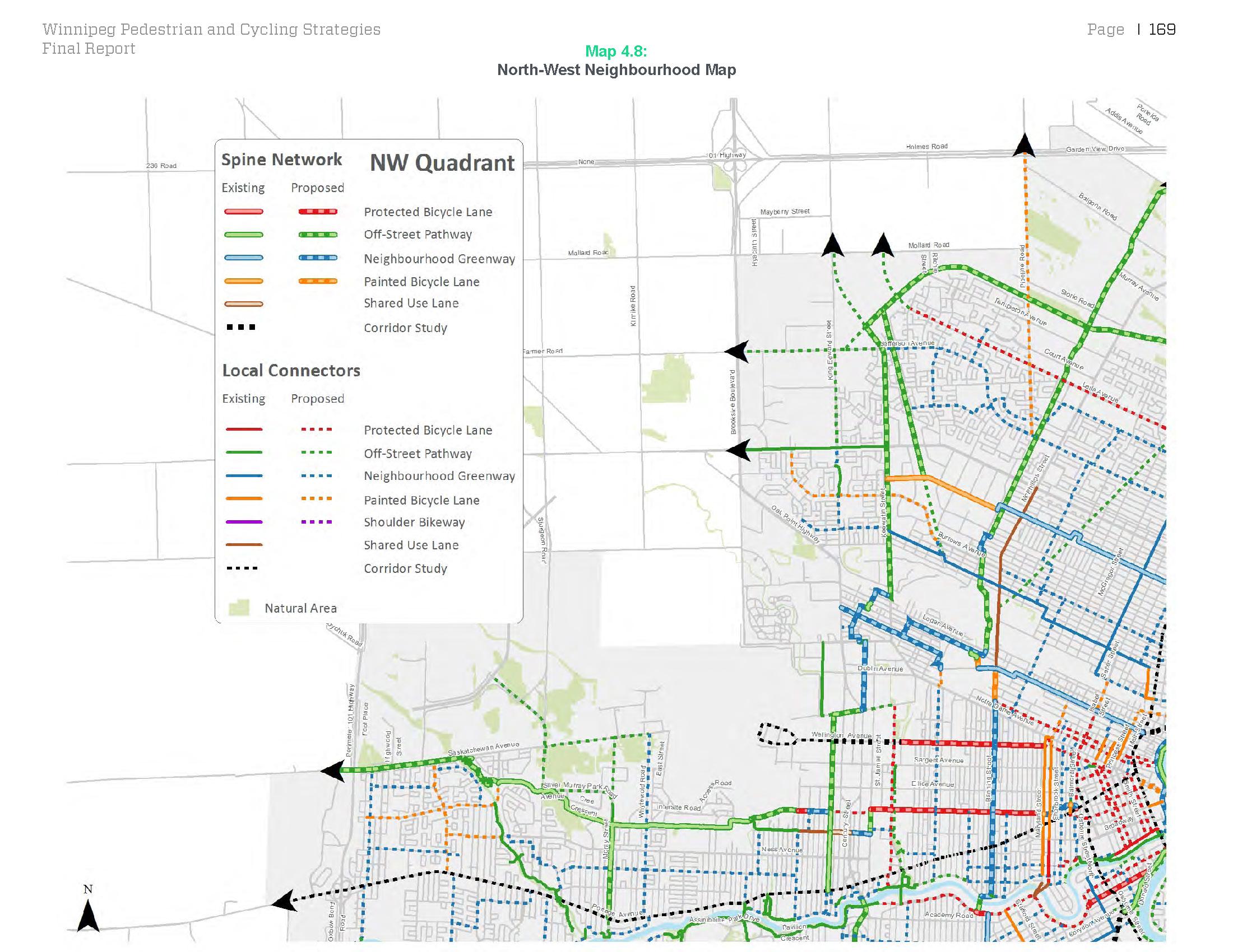 Winnipeg Pedestrian and Cycling Strategies Alta Planning Design